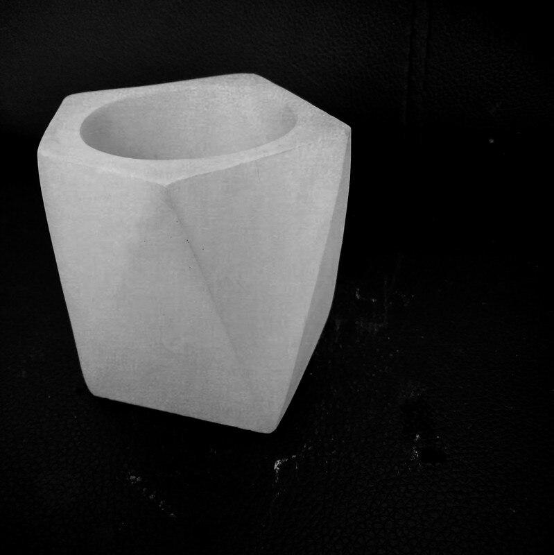 Irregular concrete flower pot mold Handmade Gardenging flowerpot pen holder desktop ornament vase ma