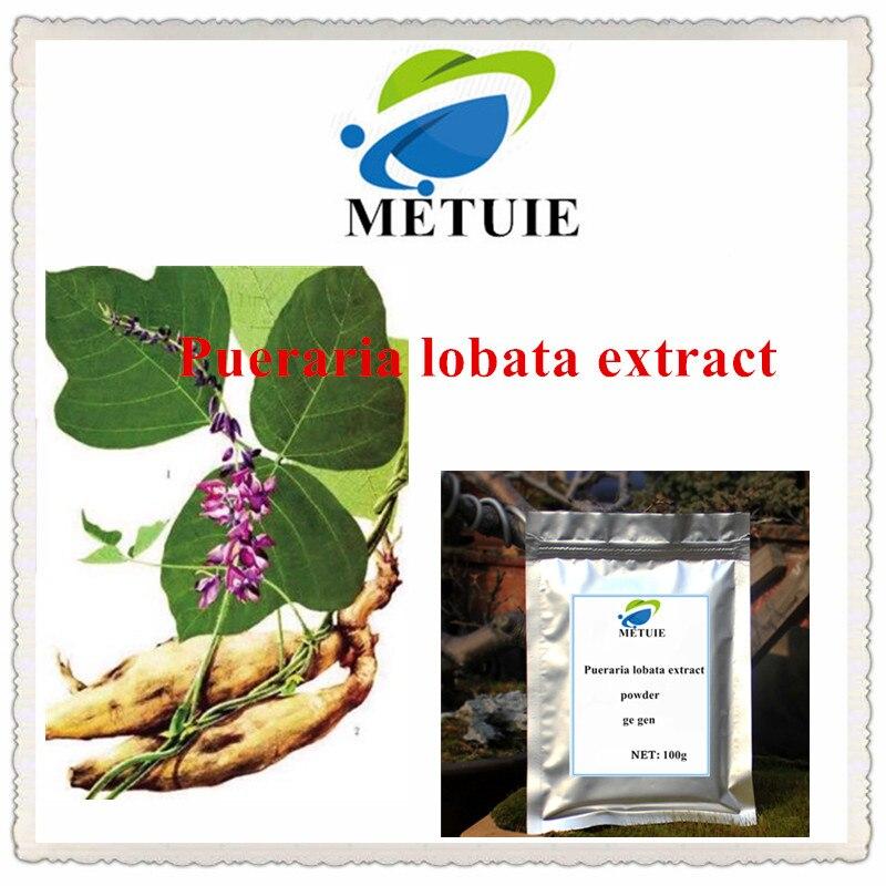 Extracto de Pueraria lobatatethe en polvo, pueraria mirifica, lobate Pueraria, Radix Puerariae, Kudzu, potenciador de mama de raíz de vid