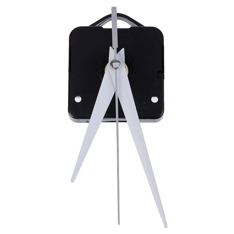 Reloj de pared grande silencioso de alta calidad mecanismo de movimiento de cuarzo conjunto de herramientas de reparación de manecillas rojas y negras con gancho