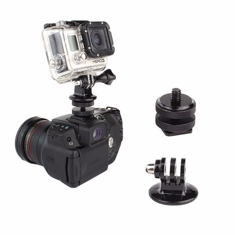 Вспышка Горячий башмак DSLR Горячий башмак Крепление Адаптер для GoPro HERO SJCAM Xiaomi YI камеры для Sony экшн-камеры