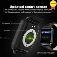 new bluetooth ecg smart watch vs iwo smart watch blood pressure sports heart rate pedometer ecg ppt ios android smart wristband