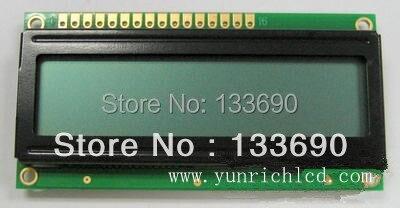 16 X 2 módulo display LCD character LCM luz de fundo, Cinza