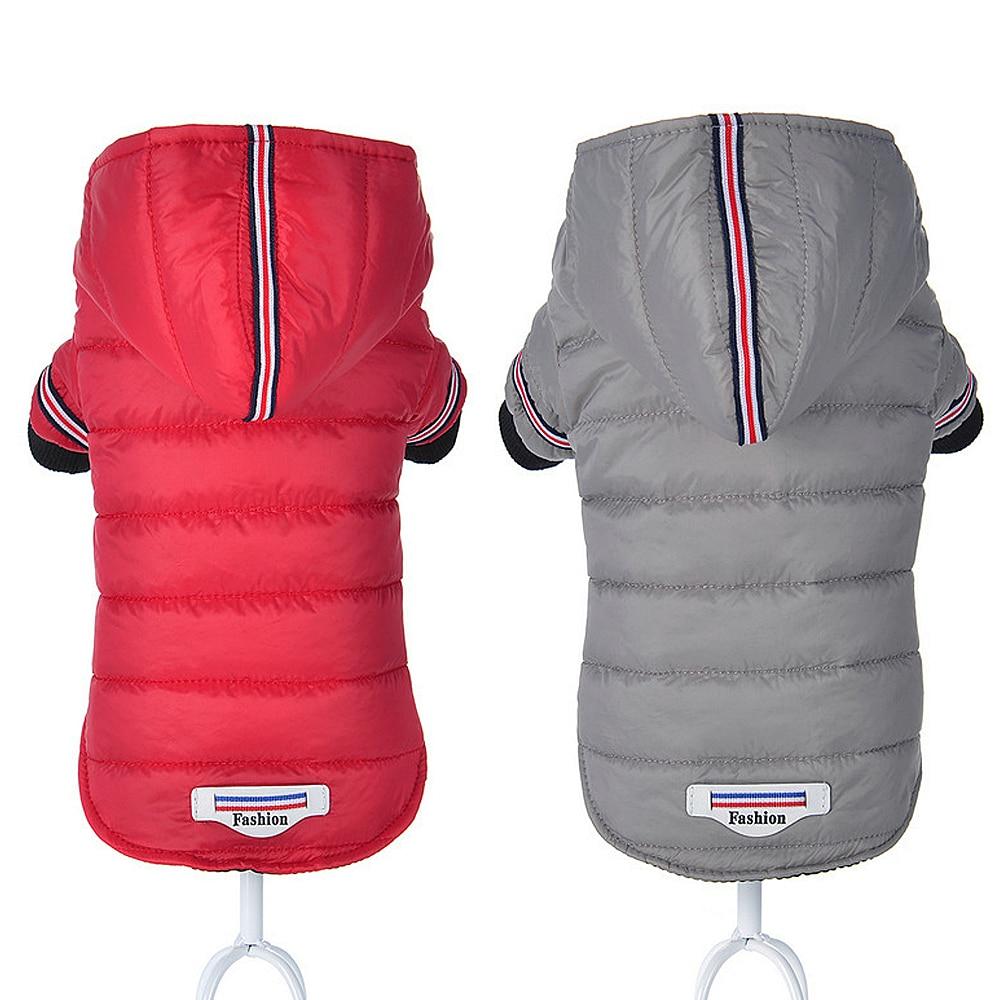 Small Dog Clothes Winter Chihuahua Clothing Pet Jacket and Coat Waterproof ropa para perros for Small Medium Dog Red