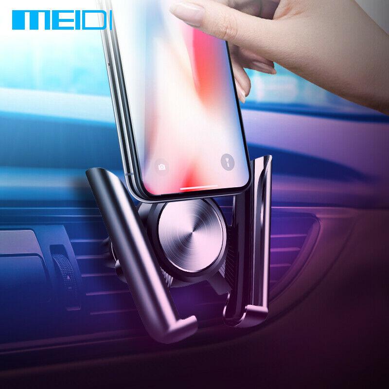 Автомобильный кронштейн MEIDI для мобильного телефона с креплением на вентиляционное отверстие Универсальный Автомобильный держатель для телефона для iPhone Sumsang Xiaomi HUAWEI