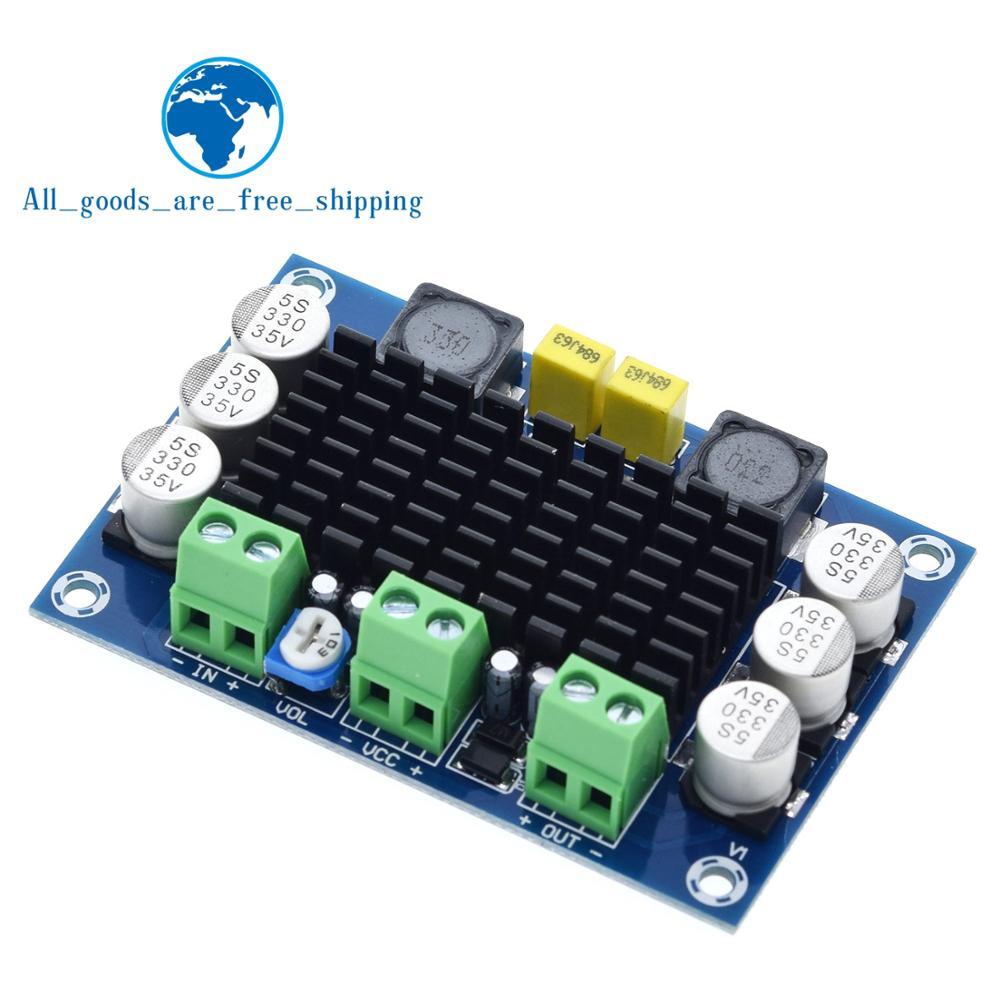 TZT TPA3116 D2 TPA3116DA DC 12 В 24 в 100 Вт моно канальный цифровой усилитель мощности TPA3116D2 большая емкость платы