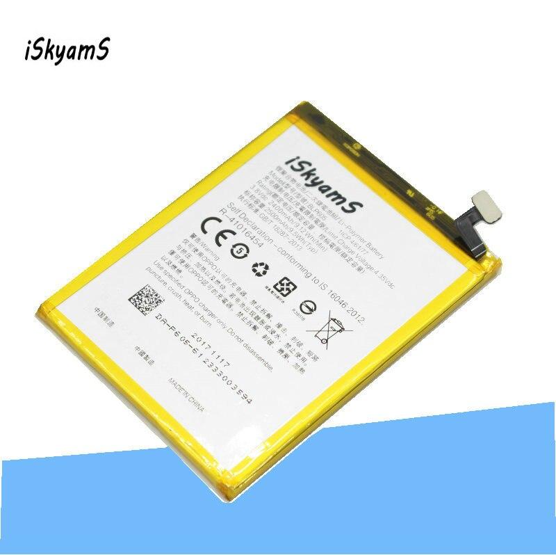 ISkyamS 1x2400 mAh BLP605/BLP 605 batería de polímero de litio para OPPO A33 A33T a33M
