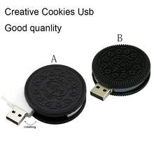 CHAUD! Mignon Oreo stylo lecteur 4GB nourriture clé Usb 8GB Biscuits clé Usb 16GB Biscuits clé de mémoire 32GB Mini U disque Flash cadeau
