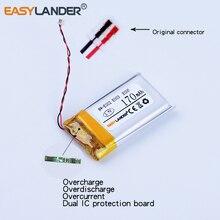 Easylander remplacement 3.7V 170mAh li-polymère Li-ion batterie pour SONY MP3 NW-E002 NW-E003 NW-E005 prise dorigine 401833