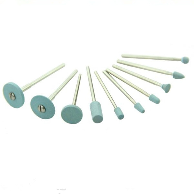 Pulidor de diamantes Dental, amoladora para cerámica de Zirconia, piedras de diamante de Metal para Zirconia y todas las cerámicas
