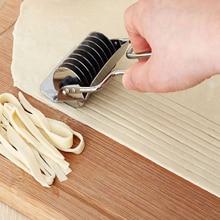 Rvs Noodle Maker Rolling Cutter Spice Ui Roller Wiel Sharp Blade