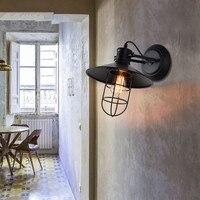 Restoring Ancient Ways Wall Lamps LOFT LED Indoor Lighting Aluminum Pendant Vintage Bar Shop The Restaurant Light Fixture