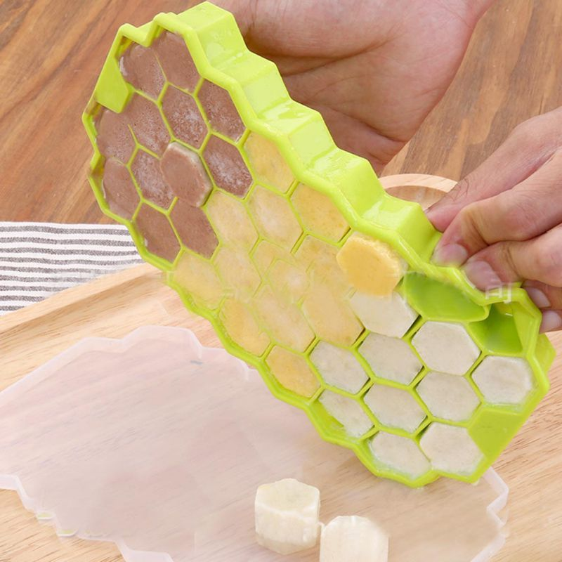37 lody narzędzia kostki lodu o strukturze plastra miodu do lodów formularz DIY formy formy do lodów jogurt pojemnik na lód lodówka się i odetchnąć można też w zamrażarce