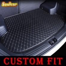 Custom Auto turnk matten BOOT LINER KOFFERBAK CARGO TAPIJT VLOERMATTEN voor Mercedes Benz SL R230 R231 SLK R171 R172 SLS Smart 2005-2017