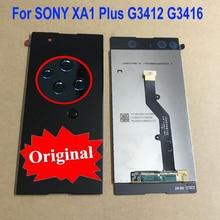 100% capteur dorigine LCD écran tactile écran numériseur assemblée pour Sony Xperia XA1 Plus G3412 G3416 G3426 téléphone pièces