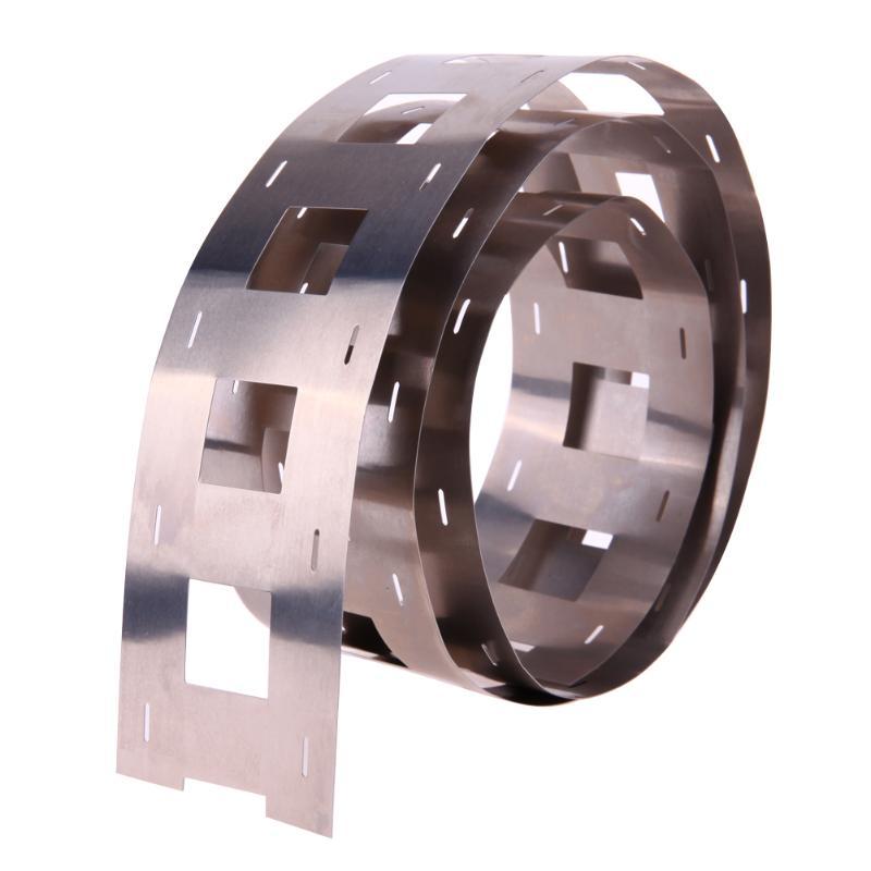 1 м 0,2*47,5 мм пластина из чистого никеля никелевая лента для 32650 сварки батареи DIY упаковка в сборе