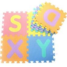 26 lettres enfants tapis bébé EVA tapis pour enfants puzzles mousse jouet tapis de sol souple tapis de jeu garçon jeux cadeau drôle bébé fille jouet