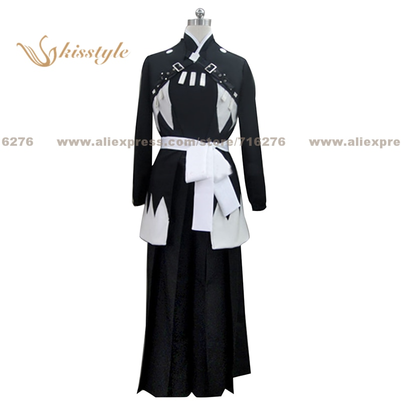 Kisstyle Fashion Hakuoki Hajime Saito Uniform COS Clothing Cosplay Costume,Customized Accepted
