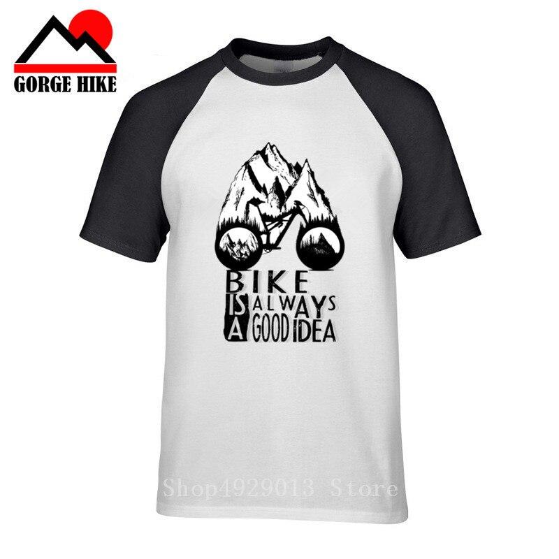MTB tinta látigo bicicleta ciclo es buena idea hombres camiseta 2019 bicicleta bmx camiseta rider montaña hombre paseo blusa bosque camiseta