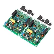 Nobsound Laatste QUAD405-2 HiFi Versterker Stereo 2.0 Kanaals Amp Gemonteerd Board 2 STKS/1 Set
