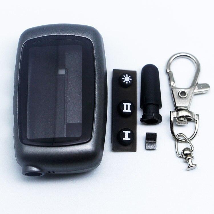 Бесплатная доставка A9 чехол Брелок для русской версии Starline A9/A8 чехол брелок ЖК двухсторонняя Автомобильная сигнализация Система новый пуль...
