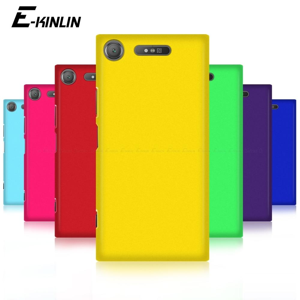 Жесткий матовый чехол для телефона, ультра тонкая задняя крышка для Sony Xperia 1 5 8 10 II XA2 XA1 XA Ultra Plus XZ3 XZ2 XZ1 XZS XZ Premium Compact