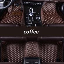 Kalaisike-tapis de sol de voiture personnalisés   Pour Geely all model Emgrand EC7 GS GL GT EC8 GC9 X7 FE1 GX7 scsx7 GX2, accessoires de style automobile