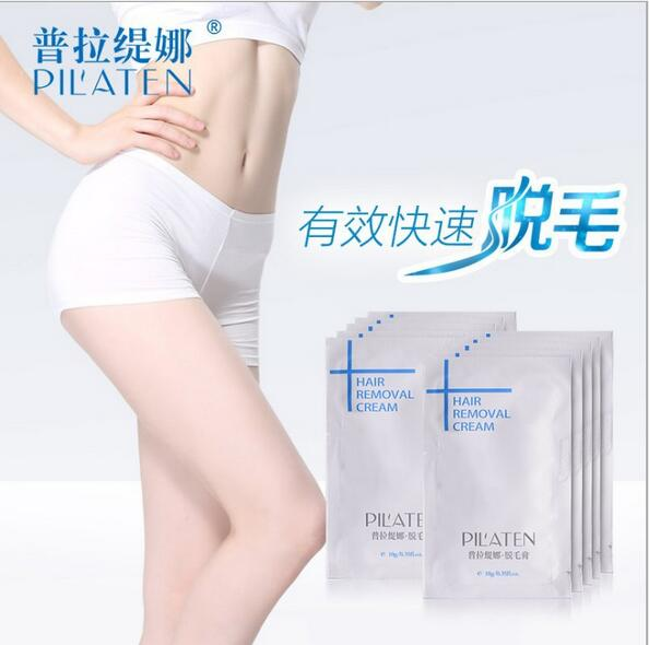 200pcs/lot Pilaten Professional Hair Removal Cream Skin Care Mild Hair Cream for Arm Leg Private part Hair Removal Beauty Bock