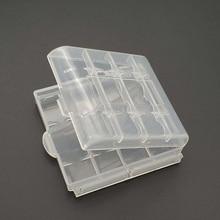 10440 14500 aa aaa 배터리 상자 컨테이너 가방 케이스 주최자 상자 케이스에 대 한 플라스틱 케이스 홀더 스토리지 박스 커버