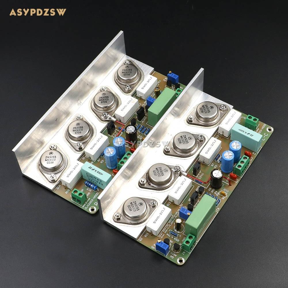 Assembeld HOOD JLH2003 Class A Single-ended power amplifier board (2 channel) 22W+22W 8ohm
