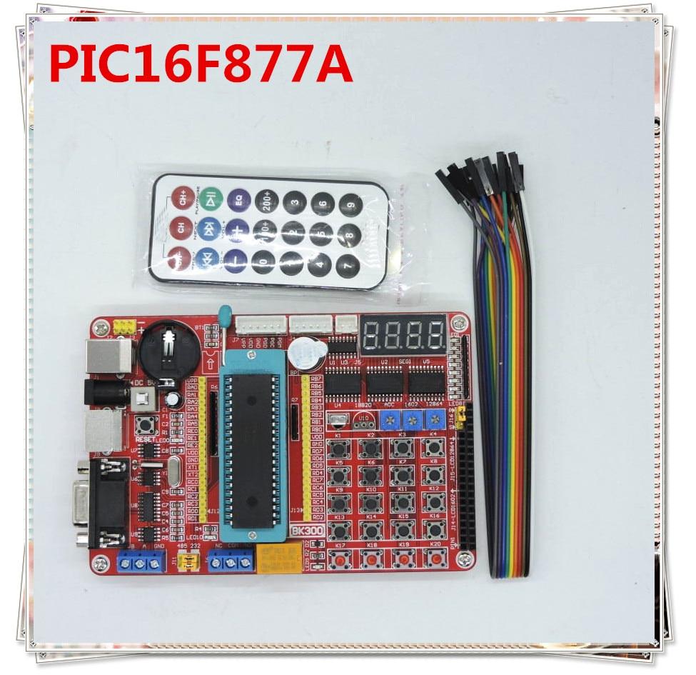 PIC16F877A Development Board PIC System Board Learning Board PIC16F Series Programming Experiment Board