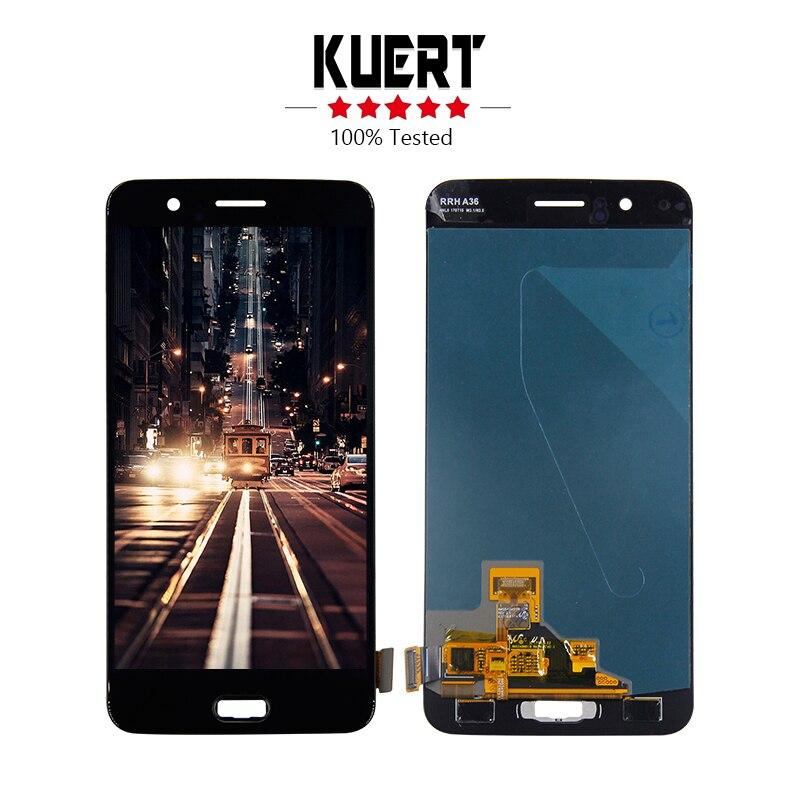 Pantalla LCD para Oneplus 5 1 + 5 A5000 OnePlus 5 Five A5000 Lcd pantalla digitalizador MONTAJE DE PANTALLA TÁCTIL pieza de reparación