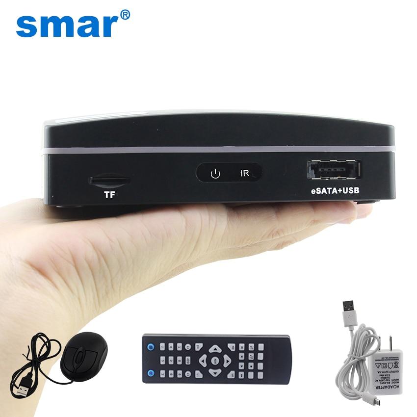 Smar أحدث 4CH 8CH سوبر ميني NVR CCTV NVR مسجل ل 720P/960P/1080P Onvif IP كاميرا ، سحابة P2P ، eSATA/TF/USB ، التحكم عن بعد