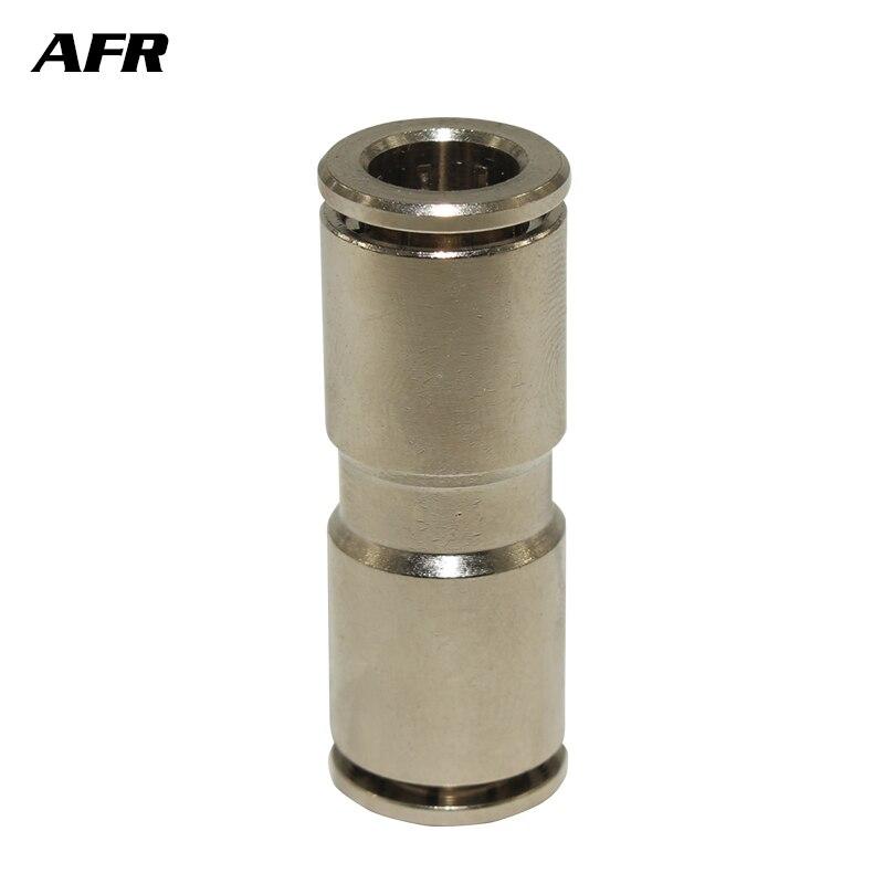 Brass push in fitting TKC Series TKC-PU4 PU6  Pneumatic fitting Pneumatic tool fitting for air pipe two-way quick coupling