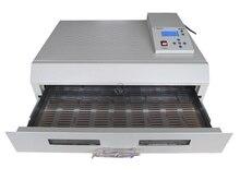 Livraison gratuite T-962C infrarouge IC chauffage Reflow soudure four Machine 2500 W 400x600mm RH