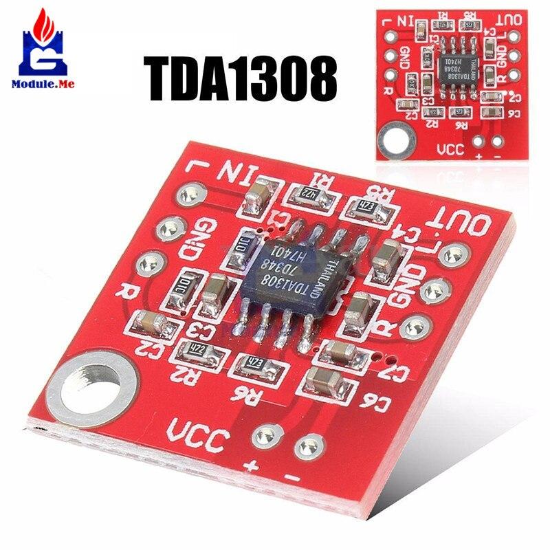 TDA1308 Headphone Stereo Amplifier Board Headset Pre-amplifier Board Module 3 -6V Classic AB A B Stereo Headphone Driver