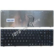 YALUZU Espagnol clavier Dordinateur Portable pour Lenovo B570 B590 Z565 Z560 Z570 Z575 V570A V570G B575 SP clavier noir