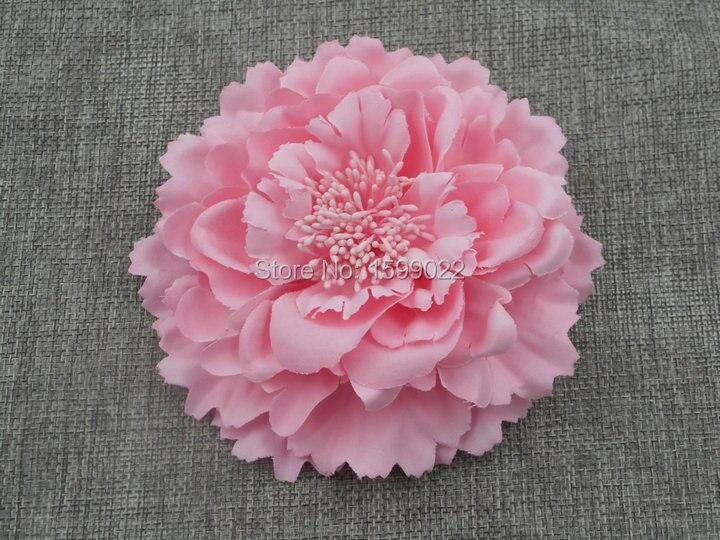 Богемный пион заколка для волос аксессуары для свадебной прически ткань цветок брошь пастельный розовый пляж головной убор женские украше...