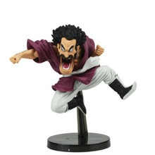 Dragon Ball Z Mr. Satan Lustige Jump Ver. Action Figure DBZ Mark Goku Freund PVC Sammlung Modell 14 cm