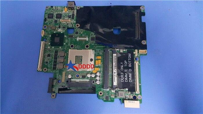 Estoque para dell precision m6500 computador portátil placa-mãe vn3tr da0xm2mbag1 0vn3tr CN-0VN3TR ddr3 100% tesed ok