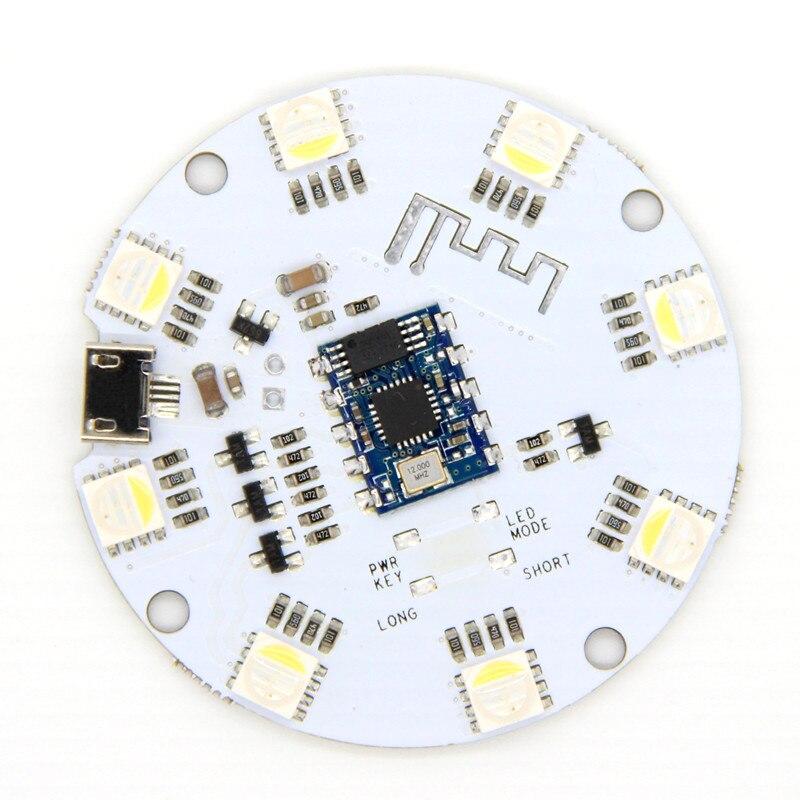 Módulo de Control de luz LED 3,6-5 V Bluetooth 4,0 BLE RGB Tablero de Control de luz para iOS/Android hogar inteligente