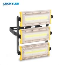 LUCKY LED LED projecteur 50W 100W 150W projecteur étanche IP65 AC85-265V projecteur extérieur lampe de jardin éclairage