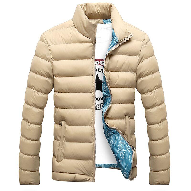 2020 New Winter Jackets Parka Men Autumn Winter Warm Outwear Brand Slim Mens Coats Casual Windbreaker Quilted Jackets Men M-6XL
