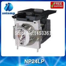 Lampe de projecteur compatible NP24LP avec boîtier 120 jours de garantie
