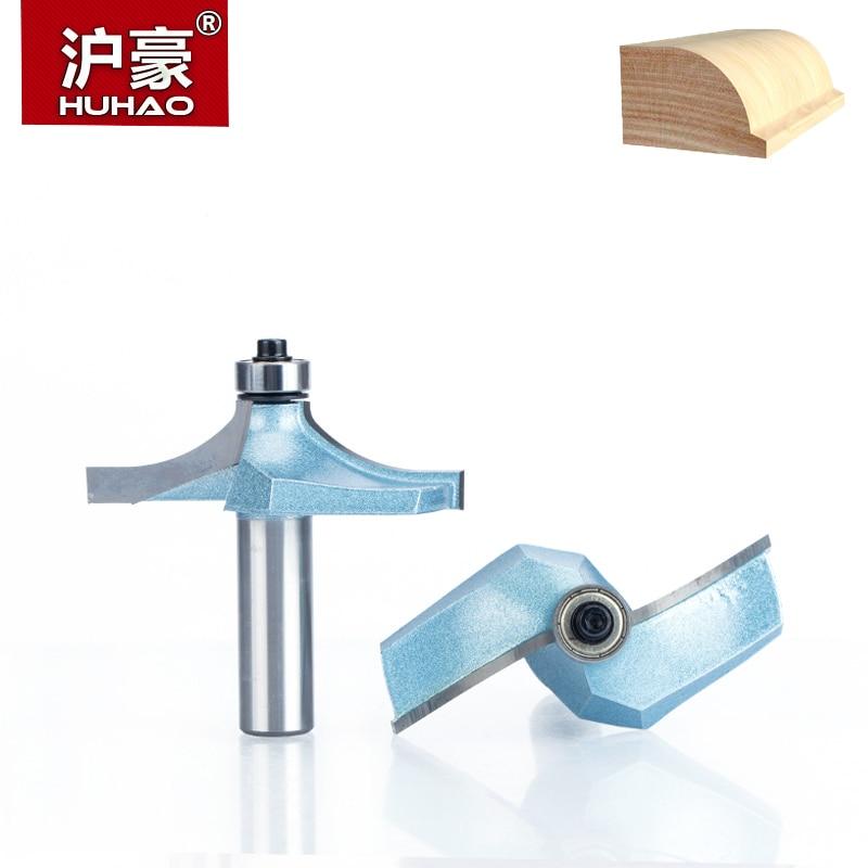 """HUHAO 1 pieza 1/2 """"brocas de enrutador de vástago para madera, brocas de corte de carburo de tungsteno, herramientas de carpintería de grado Industrial, herramienta de corte CNC"""