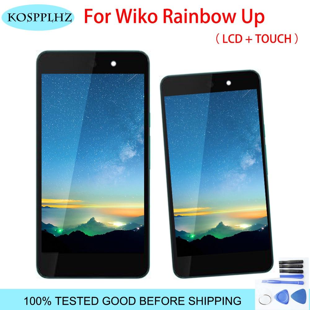 Para Wiko Rainbow UP 4G pantalla LCD con montaje de digitalizador con pantalla táctil + herramientas