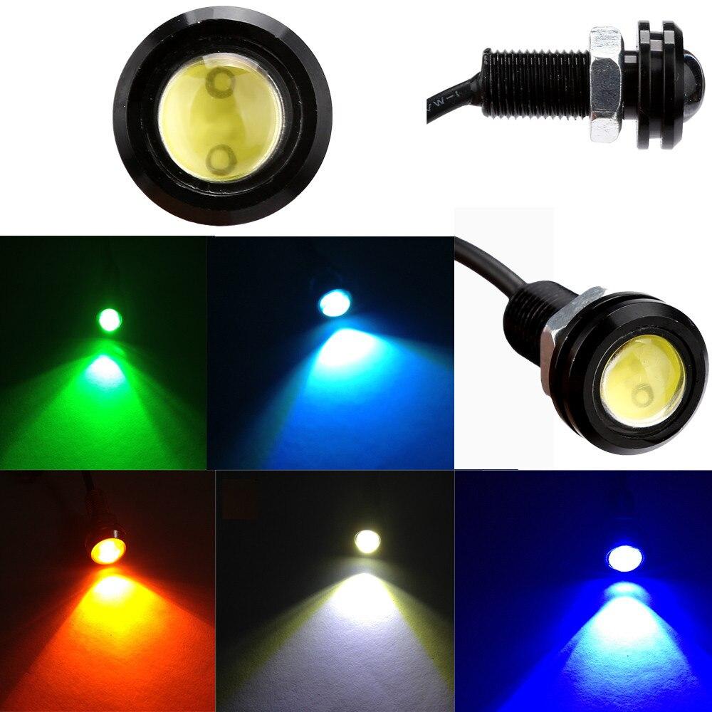 Kongyide auto licht 1x DC12V 9W Eagle Eye LED Tagfahrlicht DRL Backup Licht Auto Auto Lampe led auto licht außen nebel licht