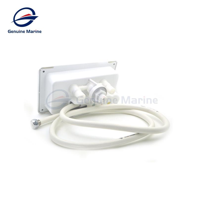 Genuine Marine RV Weatherproof Exterior Shower Box Kit For Boat Caravan Camper Accessories enlarge