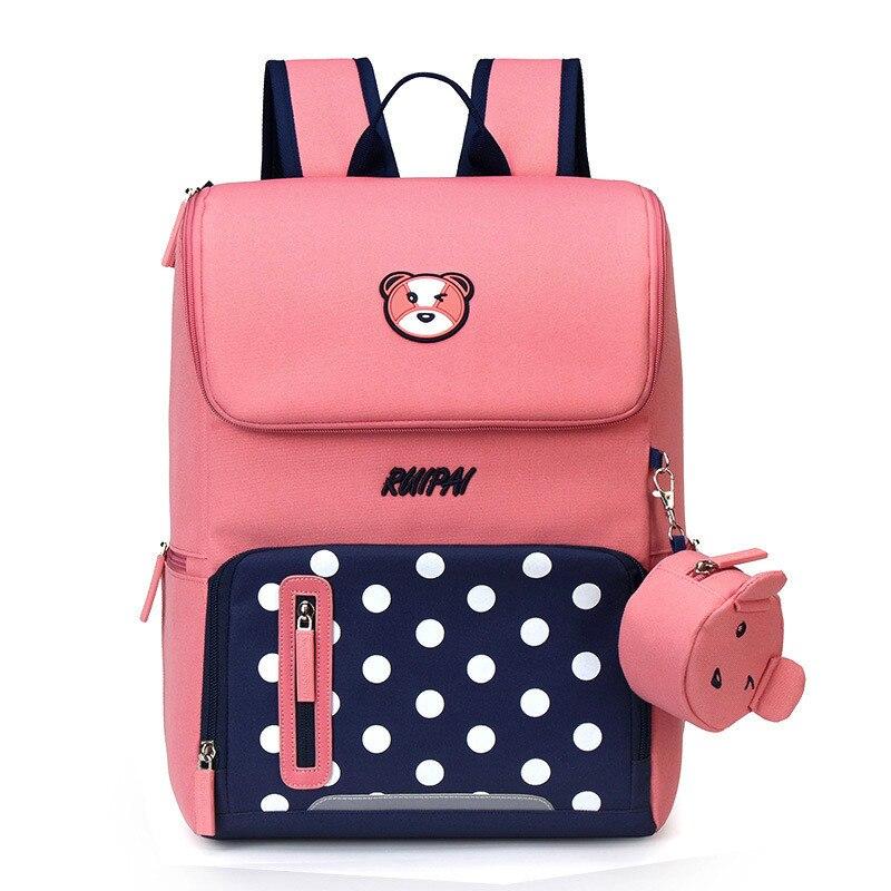 Школьные сумки с героями мультфильмов, рюкзак, школьный рюкзак, модные милые рюкзаки для детей, подростков, девочек, мальчиков, школьников, ...