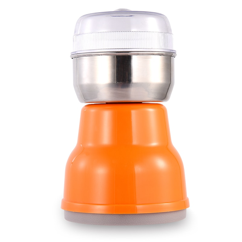 ¡Oferta! eléctrico multifuncional para moler granos molinillo de café de grano de nueces de café de hoja de acero inoxidable para Cocina Casera (Enchufe europeo)