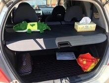 Protection de sécurité pour Honda FIT/Jazz   Accessoires de voiture, coffre de coffre arrière, protection de sécurité, noir pour Honda 2002 2003 2004 2005 2006
